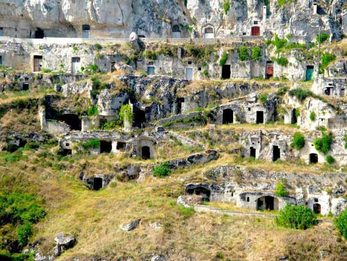 Le grotte di Matera